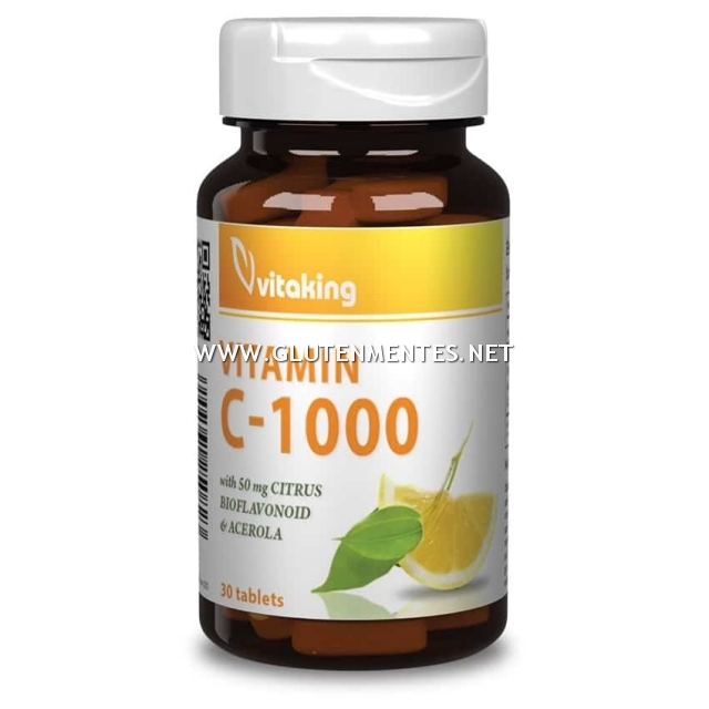 Vitaking - Bioflavonoidos C-vitamin 1000mg (90 db)