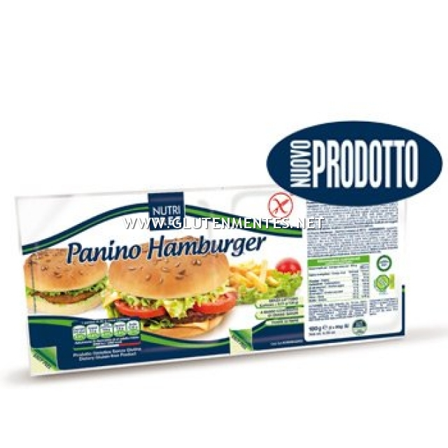 Nutrifree Hamburger zsemle - 629,- Ft